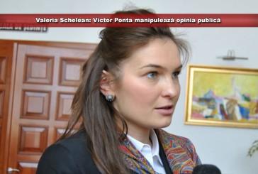 Valeria Schelean: Victor Ponta manipulează opinia publică când face invitații către Opoziție pe tema revizuirii Constituției