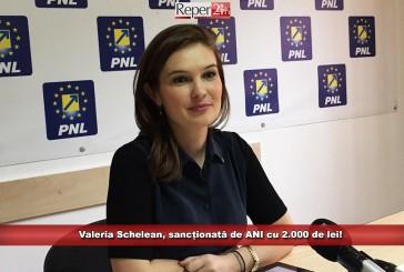 Valeria Schelean, sancționată de ANI cu 2.000 de lei!