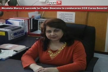 Nicoleta Marcu îi succede lui Tudor Deaconu la conducerea CCD Caraș-Severin!