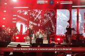 Unicul Robbie Williams a extaziat publicul de la Belgrad!