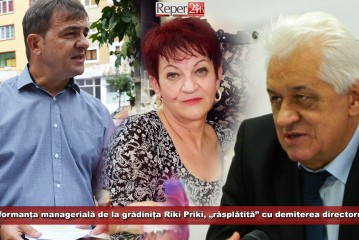 """Performanța managerială de la grădinița Riki Priki, """"răsplătită"""" cu demiterea directorului!"""