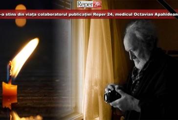 S-a stins din viața colaboratorul publicației Reper 24, medicul Octavian Apahideanu!