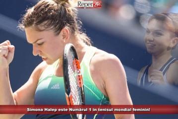 Simona Halep este Numărul 1 în tenisul mondial feminin!