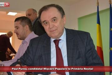 """Paul Purea, candidatul MP la Primăria Reșița! """"Cine e Paul Purea? Rușine că nu știi cine e Paul Purea!"""""""