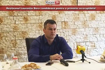 Reșițeanul Laurențiu Bora candidează pentru o primărie incoruptibilă!