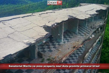 Sanatoriul Marila va avea acoperiș nou! Asta promite primarul Ursu!