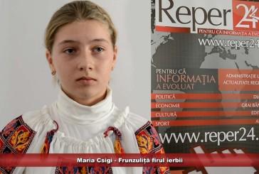 Maria Csigi – Frunzuliță firul ierbii