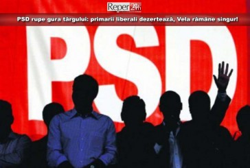 PSD rupe gura târgului: primarii liberali dezertează, Vela rămâne singur! Vezi cine a trecut în tabăra socială!