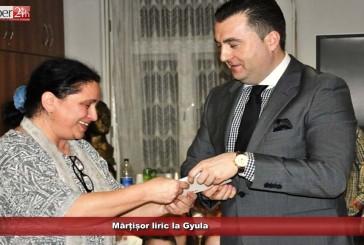 Mărțișor liric la Gyula