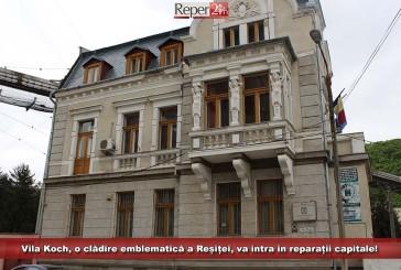 Vila Koch, o clădire emblematică a Reșiței, va intra în reparații capitale!