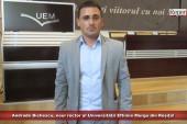 """Andrade Bichescu, noul rector al Universității Eftimie Murgu din Reșița! """"Avenit timpul să încetăm să mai aruncăm cu noroi în Universitate""""!"""