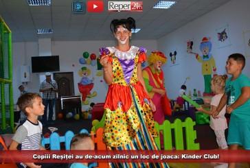 Copiii Reșiței au de-acum zilnic un loc de joacă: Kinder Club!