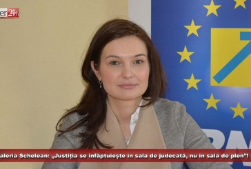 """Valeria Schelean: """"Justiția se înfăptuiește în sala de judecată, nu în sala de plen""""!"""
