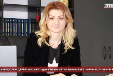 """(E) Luminița Jivan: """"Avem soluții pentru Caraş-Severin!"""""""