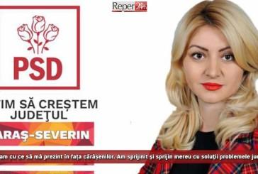 """(E) Luminița Jivan: """"Eu am cu ce să mă prezint în fața cărăşenilor"""""""