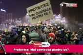 Pastila lui Nica – Protestez! Mai contează pentru ce?