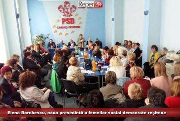 Elena Borchescu, noua președintă a femeilor social democrate reșițene
