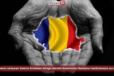 Deputatul cărășean Valeria Schelean atrage atenția Guvernului! România îmbătrânește masiv