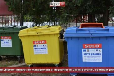 """Proiectul """"Sistem integrat de management al deşeurilor în judeţul Caraş-Severin"""", continuat prin POIM!"""