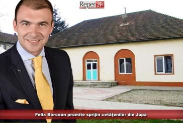 Felix Borcean promite sprijin cetăţenilor din Jupa