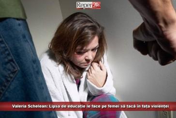 Valeria Schelean: Lipsa de educație le face pe femei să tacă în fața violenței