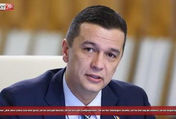 """Sorin Grindeanu: """"Am ales calea cea mai grea, să nu accept funcții, să nu accept compromisuri, să nu fac înțelegeri oculte, să nu mă rog de nimeni, să nu negociez cu nimeni!"""""""