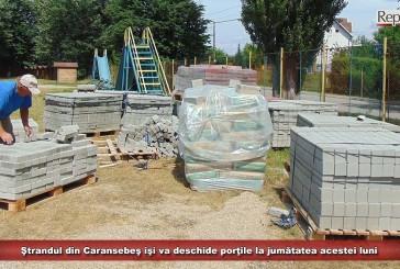 Ştrandul din Caransebeş îşi va deschide porţile la jumătatea acestei luni