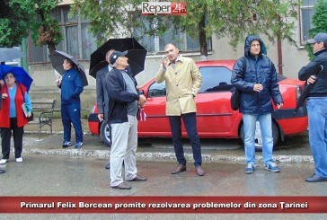 Primarul Felix Borcean promite rezolvarea problemelor din zona Ţarinei