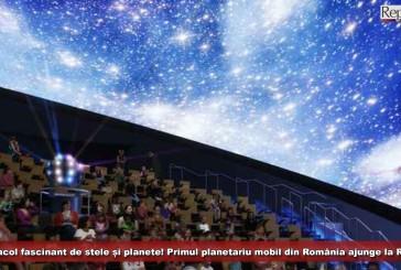 Spectacol fascinant de stele și planete! Primul planetariu mobil din România ajunge la Reşiţa!