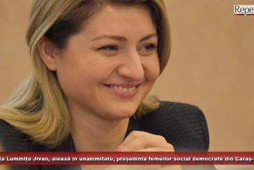 Deputata Luminița Jivan, aleasă în unanimitate, președinta femeilor social democrate din Caraș-Severin