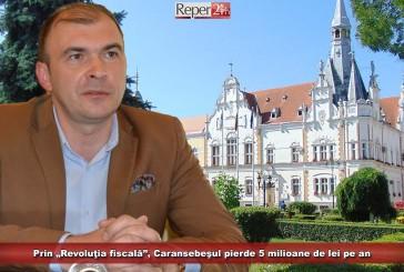 """Prin """"Revoluţia fiscală"""", Caransebeşul pierde 5 milioane de lei pe an"""