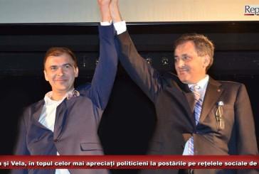 Borcean și Vela, în topul celor mai apreciați politicieni la postările pe rețelele sociale de Crăciun