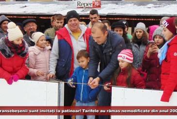 Caransebeșenii sunt invitați la patinoar! Tarifele au rămas nemodificate din anul 2006!