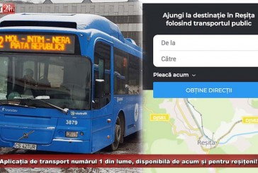 Autobuzele din Reșița, în pas cu tehnologia! Aplicația de transport numărul 1 din lume, disponibilă și pentru reșițeni!