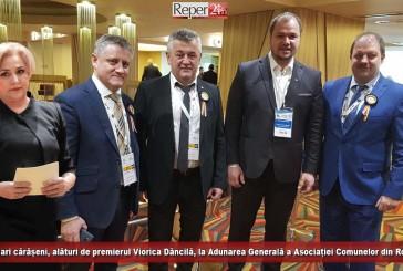 15 primari cărășeni, alături de premierul Viorica Dăncilă, la Adunarea Generală a Asociației Comunelor din România!
