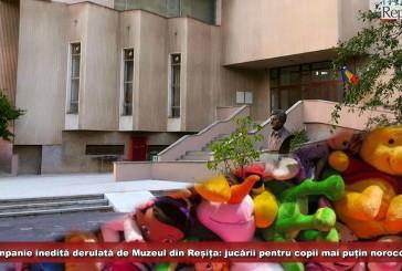 Campanie inedită derulată de Muzeul Banatului Montan din Reșița: jucării pentru copii mai puțin norocoși!