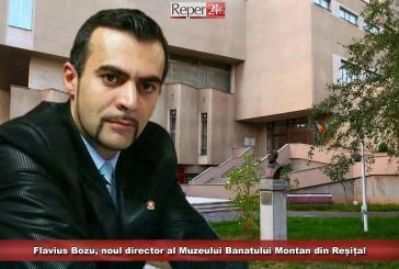 """""""Este momentul pentru o nouă viziune la Muzeul Banatului Montan""""! Flavius Bozu a preluat frâiele instituției reșițene!"""