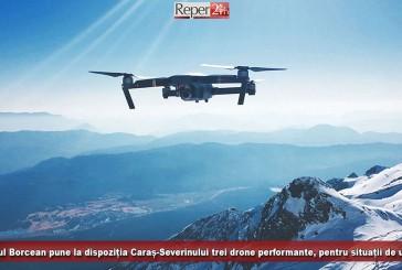 Primarul Felix Borcean pune la dispoziția Caraș-Severinului trei drone performante, pentru situații de urgență!