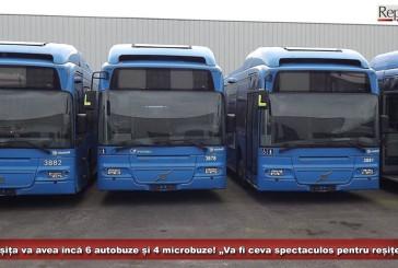"""Reșița va avea încă 6 autobuze și 4 microbuze! """"Va fi ceva spectaculos pentru reșițeni"""", dă asigurări conducerea TUR!"""