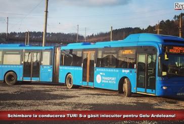 Schimbare la conducerea societății Transport Urban Reșița! S-a găsit înlocuitor pentru Gelu Ardeleanu!