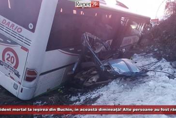 Accident mortal în această dimineață la ieșirea din Buchin spre Băile Herculane!