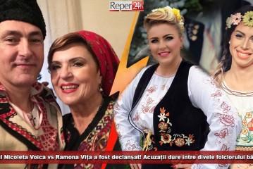 Războiul Nicoleta Voica vs Ramona Vița a fost declanșat! Acuzații dure între divele folclorului bănățean!
