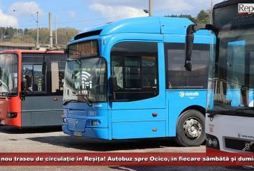 Un nou traseu de circulație în Reșița! Autobuz spre Ocico, în fiecare sâmbătă și duminică!