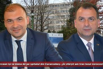 """Borcean își ia mâna de pe spitalul din Caransebeș. """"În sfârșit am tras lozul norocos!"""""""