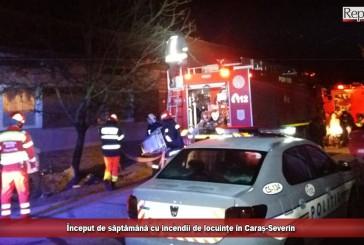 Început de săptămână cu incendii de locuințe în Caraș-Severin