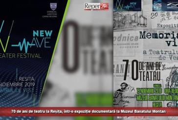 70 de ani de teatru la Reșița, într-o expoziție documentară la Muzeul Banatului Montan