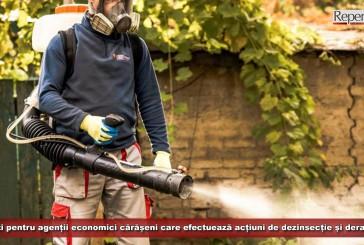 Amenzi pentru agenții economici din Caraș-Severin care efectuează acțiuni de dezinsecție și deratizare! Ce au descoperit polițiștii?
