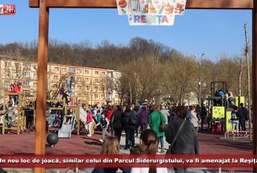Un nou loc de joacă, similar celui din Parcul Siderurgistului, va fi amenajat la Reșița!