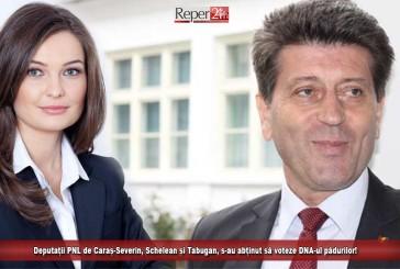 """Deputații PNL de Caraș-Severin, Schelean și Tabugan, s-au abținut să voteze """"DNA-ul Pădurilor""""!"""