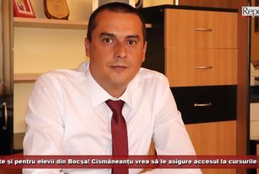 Tablete și pentru elevii din Bocșa! Primarul Cismăneanțu vrea să le asigure accesul la cursurile online!